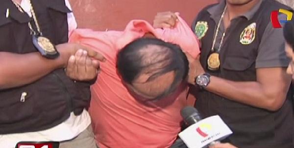 Capturan a delincuente que extorsionaba a comerciantes en La Victoria