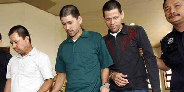 FOTOS: Malasia condena a muerte a tres hermanos mexicanos por narcotráfico