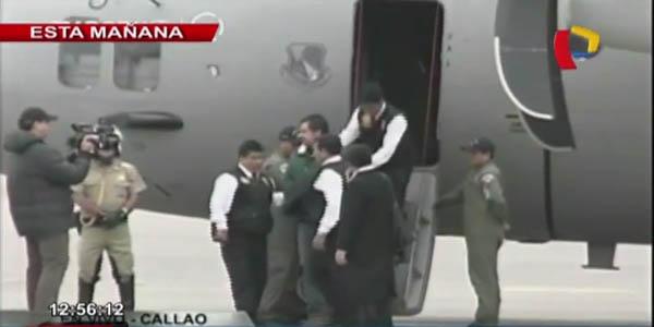 VIDEO: Martín Belaunde Lossio llegó a Lima bajo estrictas medidas de seguridad