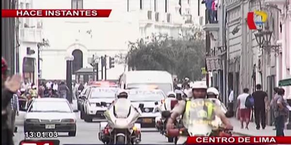 VIDEO: Martín Belaunde Lossio fue trasladado a  la Sala Penal Nacional
