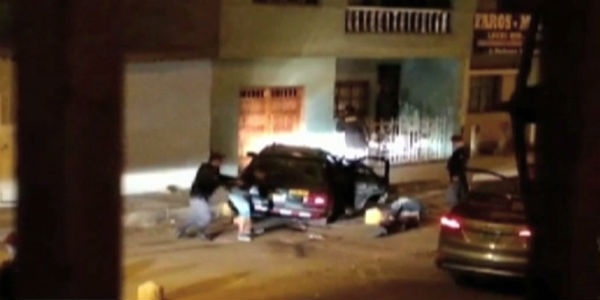 Ladrones caen tras persecución y tiroteo en Los Olivos