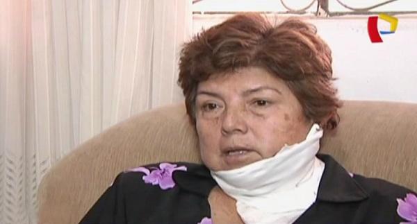 Sujeto acuchilló a su tía por tenencia de una vivienda en SMP