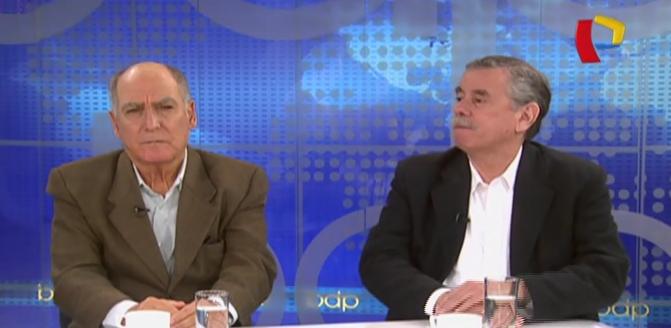"""Rospigliosi: """"Gobierno está ocupado en salvar a Humala y Heredia de ir a la cárcel"""""""