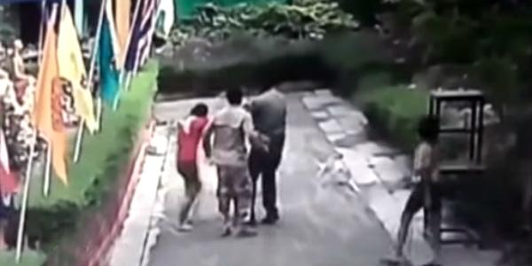 Tailandia: sujeto lanza ácido a su esposa al verla conversar con otro hombre