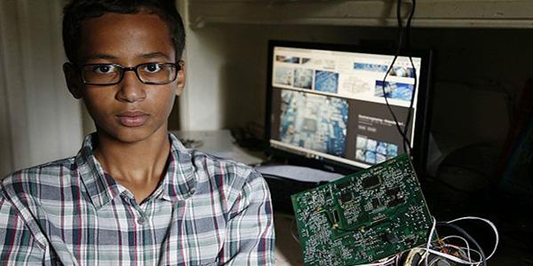 EEUU: fue arrestado por fabricar una 'bomba' pero el presidente Obama lo respaldó