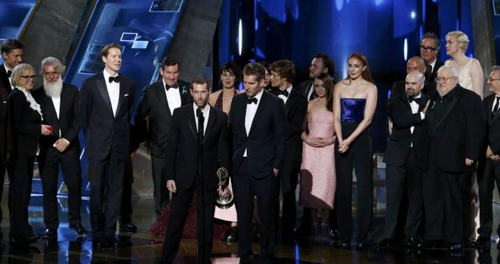 """""""Game of Thrones"""" rompe récord en los premios Emmy"""
