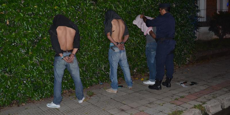 """Policía captura a los """"Rápidos y Furiosos de Villa María"""""""