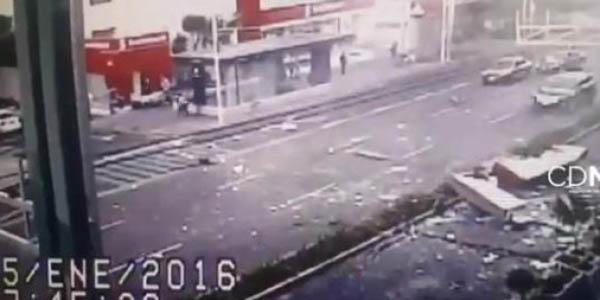 Fuga de gas causa gran explosión en cafetería de México