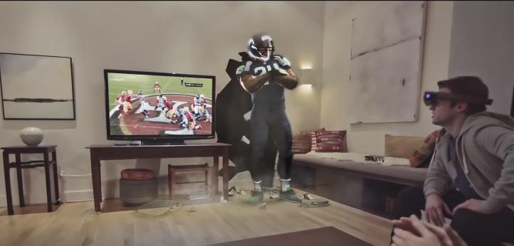 Microsoft mostró cómo serán las transmisiones deportivas en el futuro