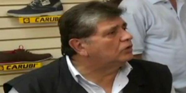 """Alan García: """"Felizmente nunca acepté Honoris Causa de Universidad César Vallejo"""""""
