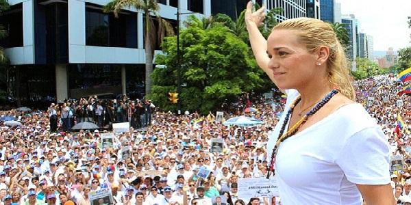 Venezuela: oposición realizó masiva concentración para exigir libertad de presos políticos