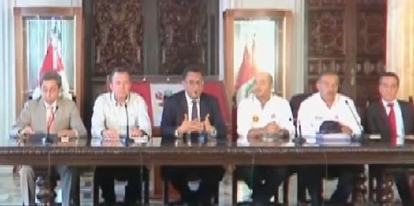 Ministros se pronuncian por daños en Carretera Central
