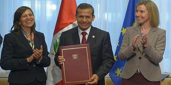 Ollanta Humala firmó convenio para la eliminación de la Visa Schengen