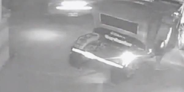 Piura: cámaras registran violento robo en hotel
