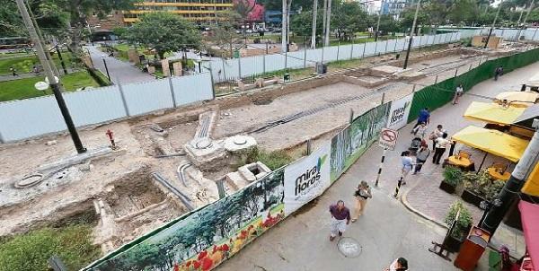 Miraflores: anuncian que estacionamientos subterráneos estarán listos en octubre
