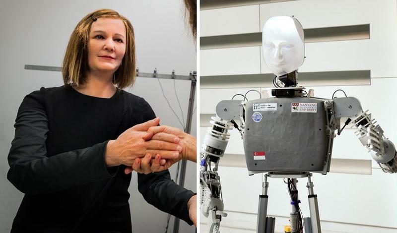 Nadine, el robot humanoide que piensa y reacciona como un ser humano