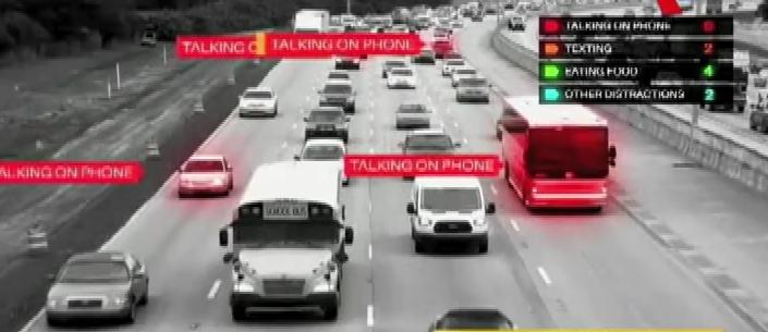 EEUU: estudio revela irresponsable distracción de conductores