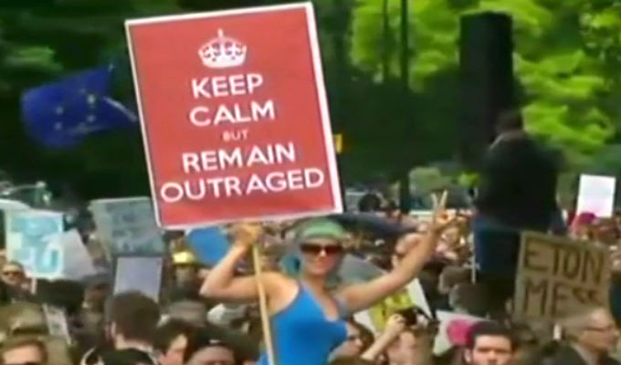 Londres: Miles marchan contra el Brexit