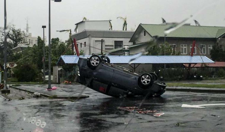 Taiwán: un muerto y más de 60 heridos tras paso de tifón 'Nepartak'