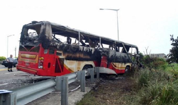 Taiwán: accidente de autobús deja 26 muertos
