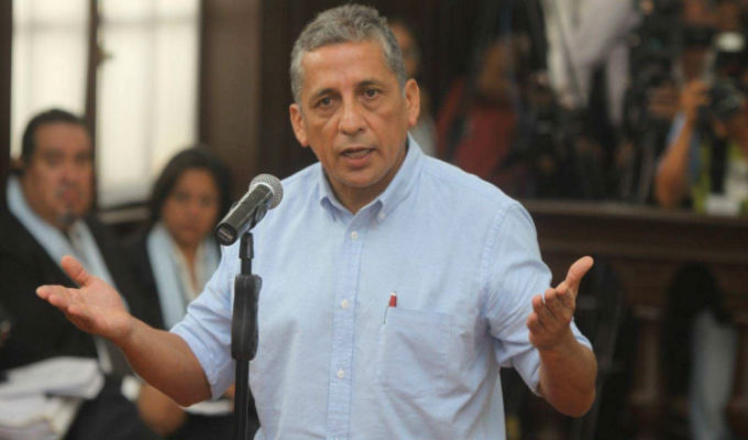 TC declara infundado hábeas corpus de Antauro Humala