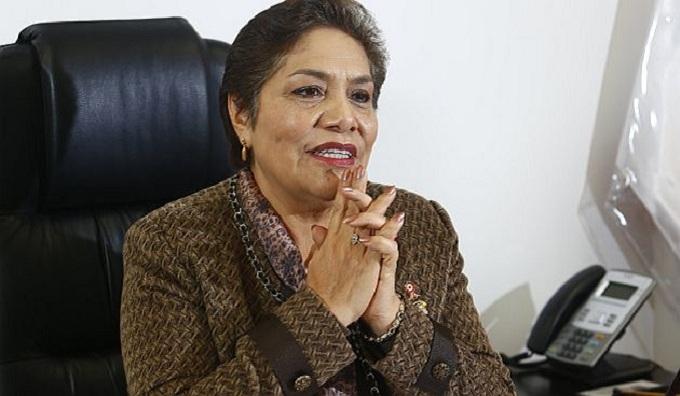 Congreso: mayoría de bancadas respaldan discurso de Luz Salgado