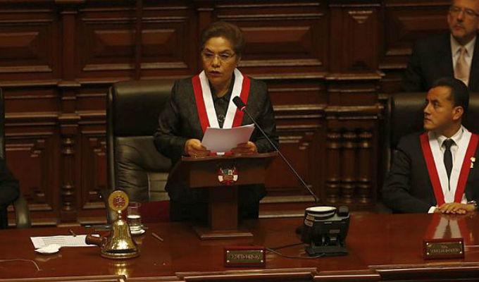 Congreso instaló Mesa Directiva del periodo 2016-2017