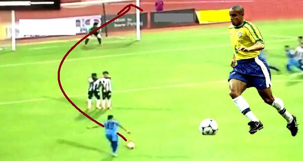 YouTube: marcan espectacular gol al estilo de Roberto Carlos