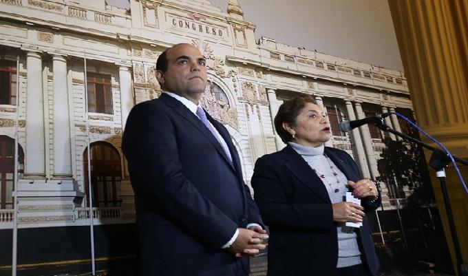 Luz Salgado propone que Gabinete Ministerial se presente el 18 de agosto