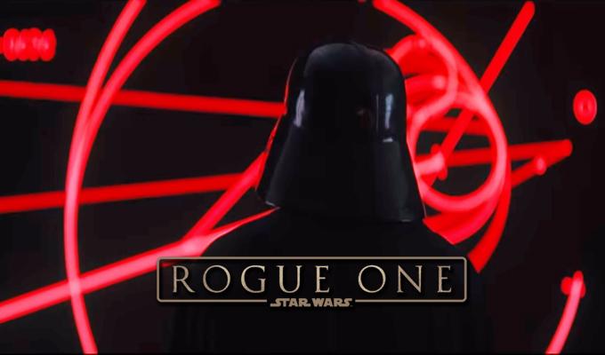 """Darth Vader regresa a la pantalla grande con """"Rogue One"""""""