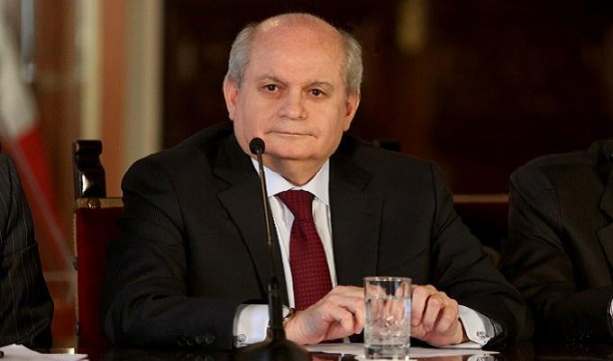 Pedro Cateriano negó irregularidades en compra de satélite Perú SAT-1