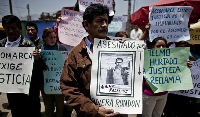 Caso Accomarca: se espera la sentencia de la Sala Penal Nacional