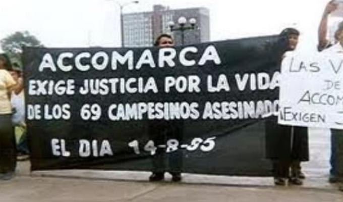 Sentencia caso Accomarca: determinan condenas de entre 23 y 25 años de prisión