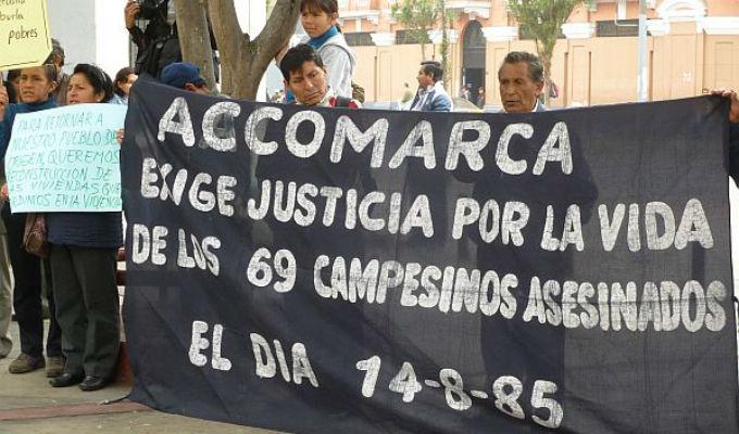Poder Judicial condenó a militares por caso Accomarca