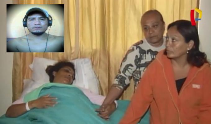 VMT: exigen captura de sujeto que golpeó brutalmente a expareja