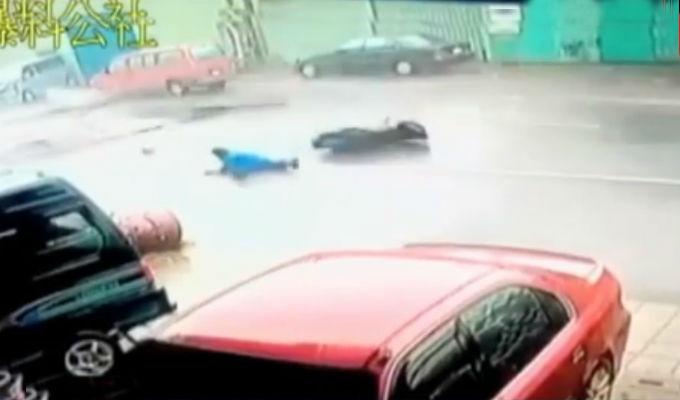 Tifón Meranti provoca accidentes en Taiwán