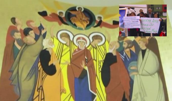 Callao: feligreses se enfrentan por imagen de virgen en parroquia