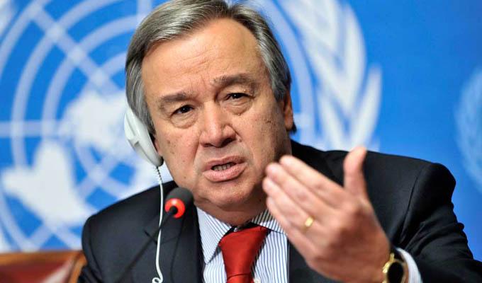 ONU designa a portugués António Guterres como nuevo secretario general