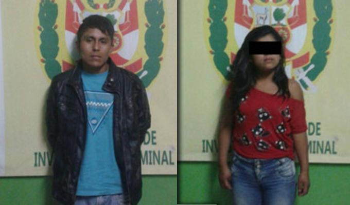 Trujillo: detienen a una menor de 16 años con arma de fuego
