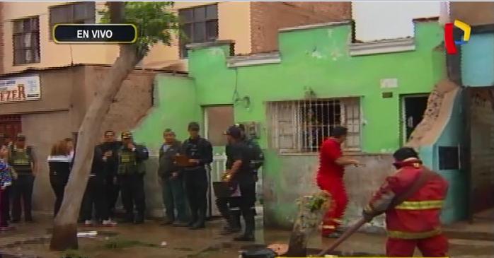 Callao: incendio en vivienda deja dos muertos