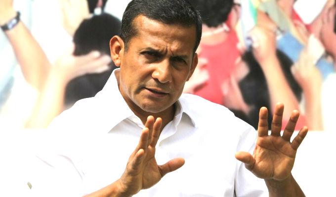Ollanta Humala y Pedro Cateriano evadieron preguntas de Comisión de Defensa