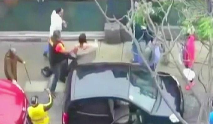 Parientes de Marco Zunino y familia Bellina cuentan su versión tras pelea en Miraflores
