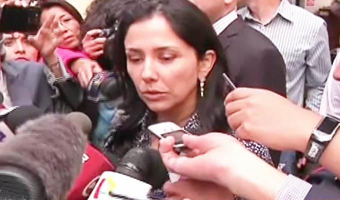 Nadine Heredia acudió a la Sala Penal Nacional