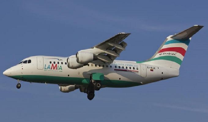 Presentan demanda contra aerolínea Lamia por accidente aéreo en Colombia