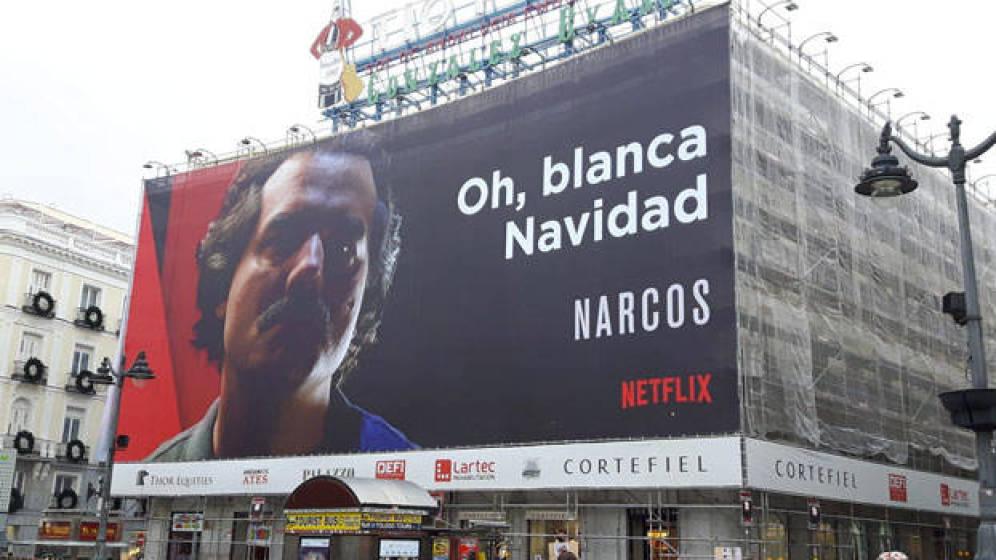 Colombia pide retirar valla publicitaria de 'Narcos' en Madrid