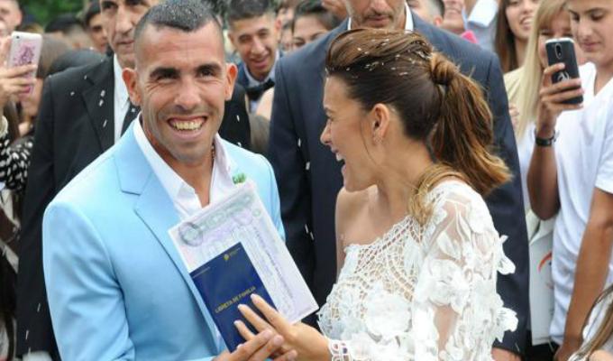 VIDEO: difunden imágenes inéditas de la boda de Carlos Tevez