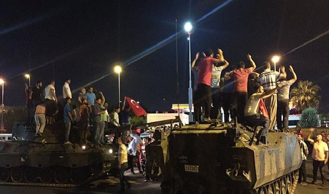 El fallido golpe de Estado que remeció Turquía