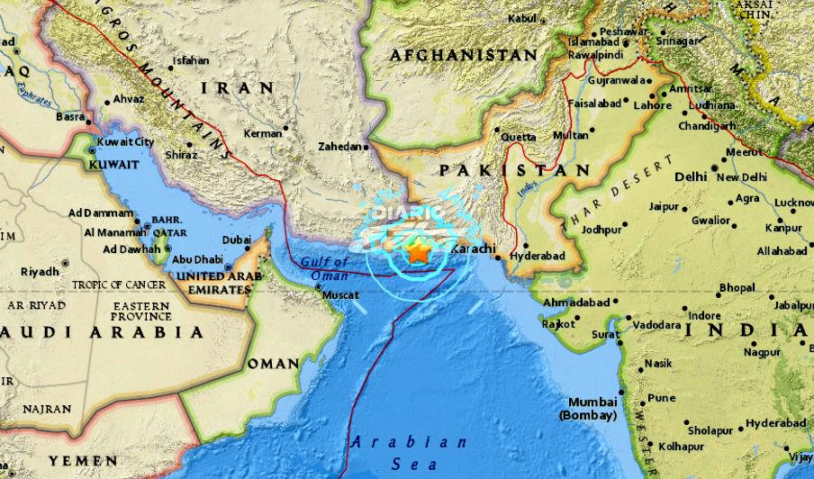 Terremoto de 6,3 grados sacude el suroeste de Pakistán