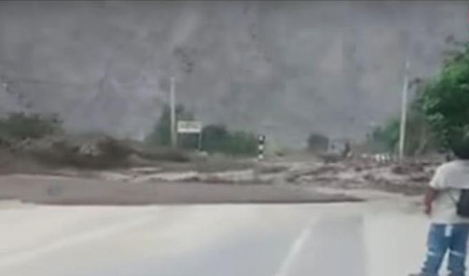 Cañete: caída de huaico sorprende a pobladores de Lunahuaná