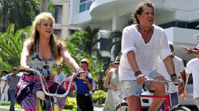 Shakira y Carlos Vives afrontan denuncia por supuesto plagio de 'La bicicleta'
